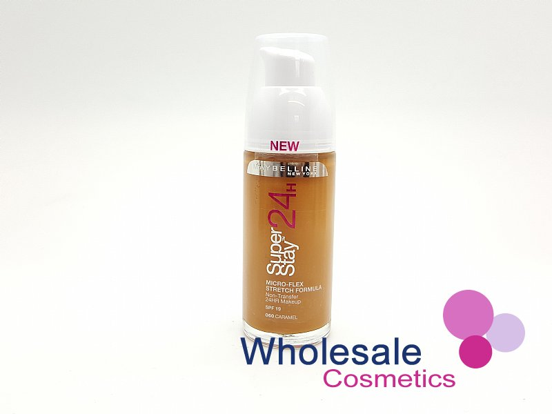 12 x Maybelline 24HR SuperStay Foundation - 060 CARAMEL