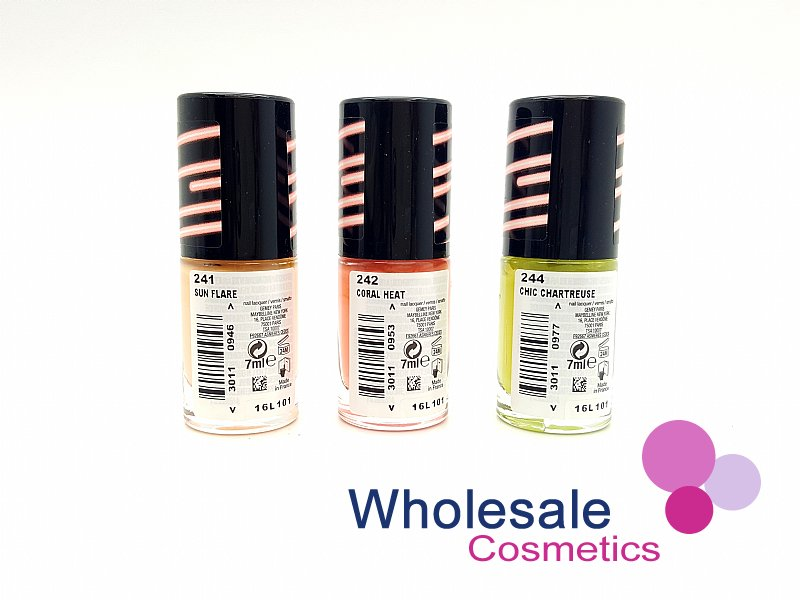 24 x Maybelline Colorshow Bleached Neons - ASSORTED