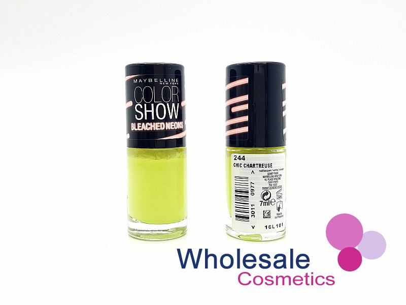 24 x Maybelline Colorshow Bleached Neons - 244 CHIC CHARTREUSE