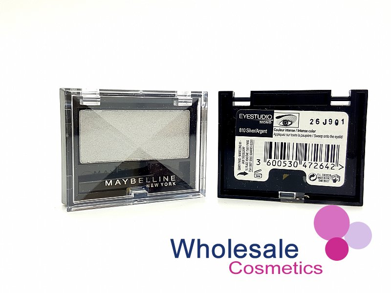 24 x Maybelline Eye Studio Mono Eye Shadows - 810 Silver