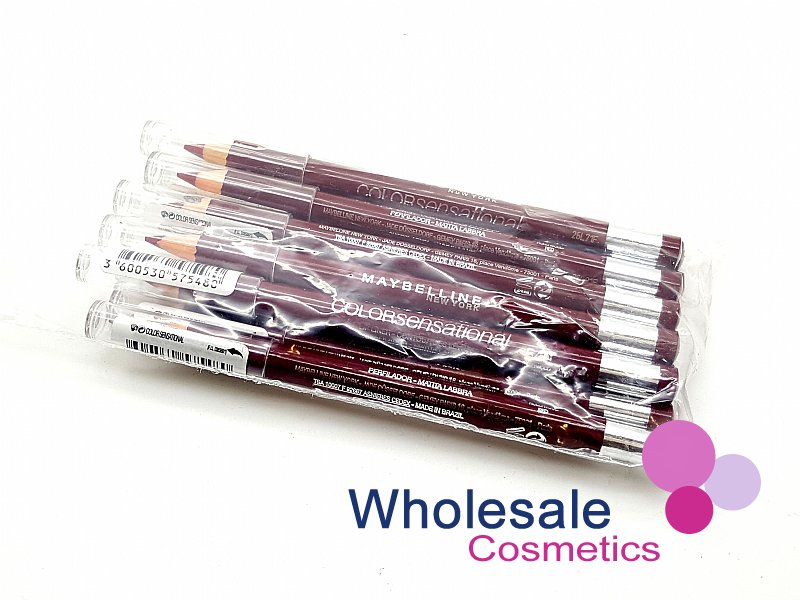 24 x Maybelline Color Sensational Lip Liners - 540 Hollywood Red