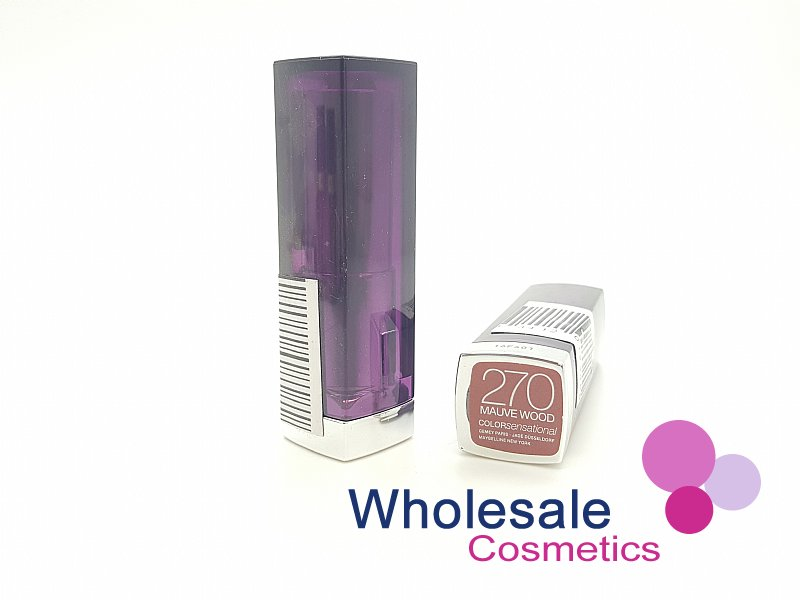 24 x Maybelline Colour Sensational Lipstick - 270 Mauve Wood