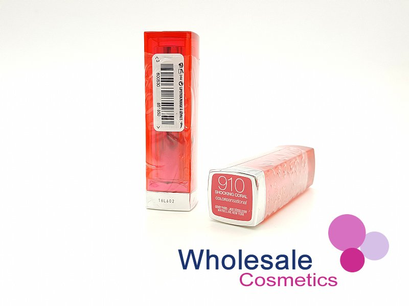 24 x Maybelline Colour Sensational Lipstick - 910 Shocking Coral