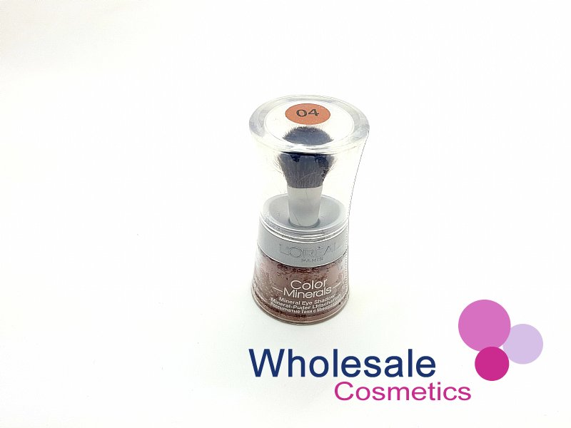 12 x L'Oreal Colour Minerals Eye Shadow - 04 Nude Crystal