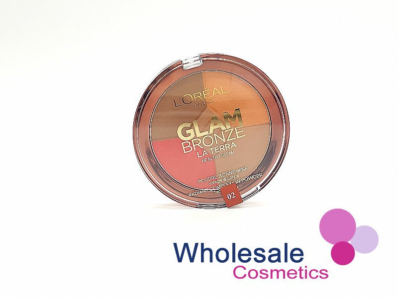 12 x L'Oreal Glam Bronze Le Terra Healthy Glow Palette