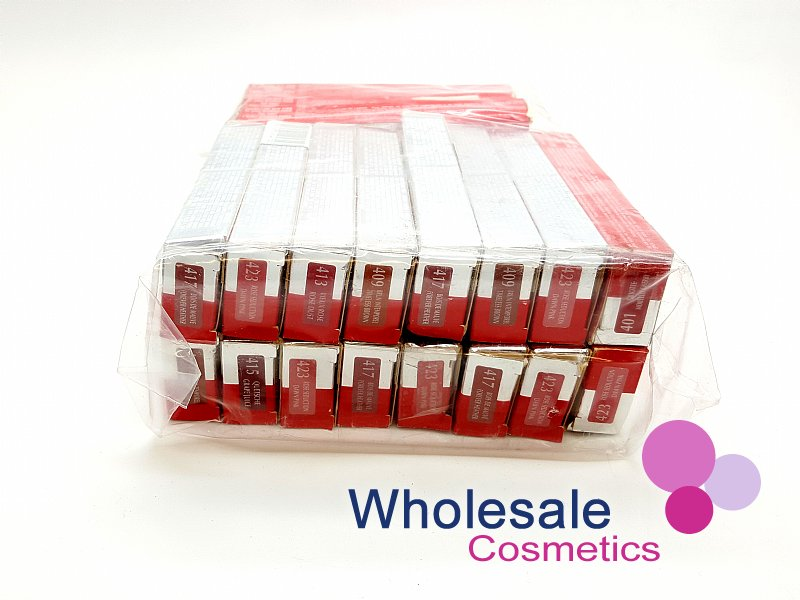 24 x Maybelline Superstay 16HR Double Ended Lip Color & Balm - ASSORTED