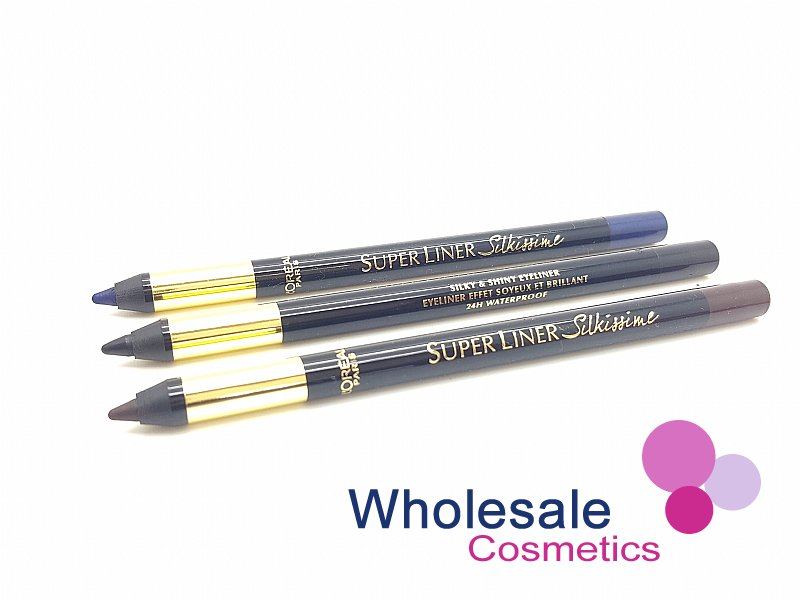 24 x L'Oreal SuperLiner Silkissime 24HR Waterproof Eyeliner - ASSORTED