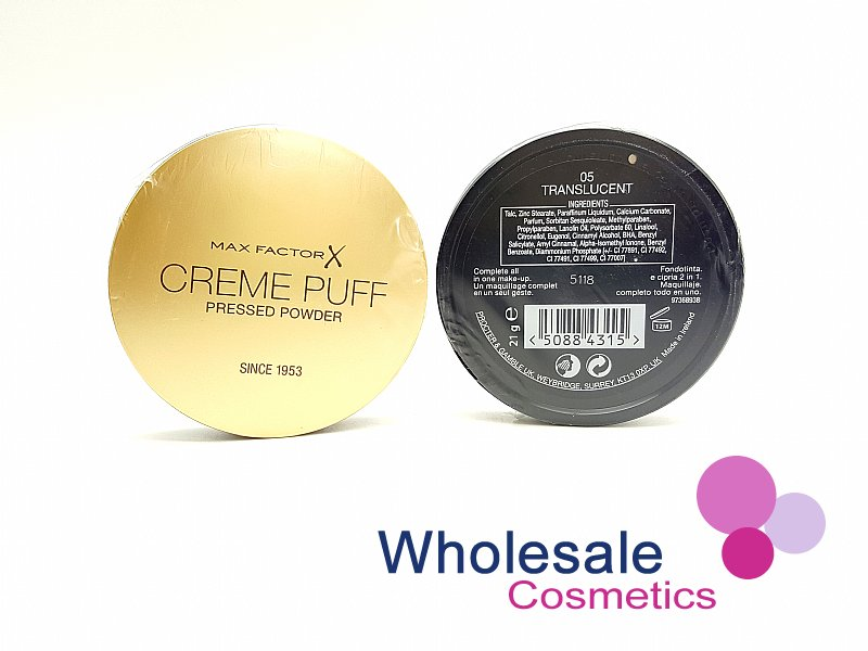 15 x Max Factor Creme Puff Powder Compact - 05 Translucent