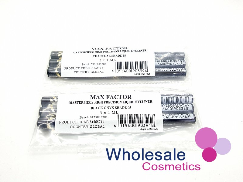 18 x Max Factor Masterpiece High Precision Liquid Eyeliner - ASSORTED