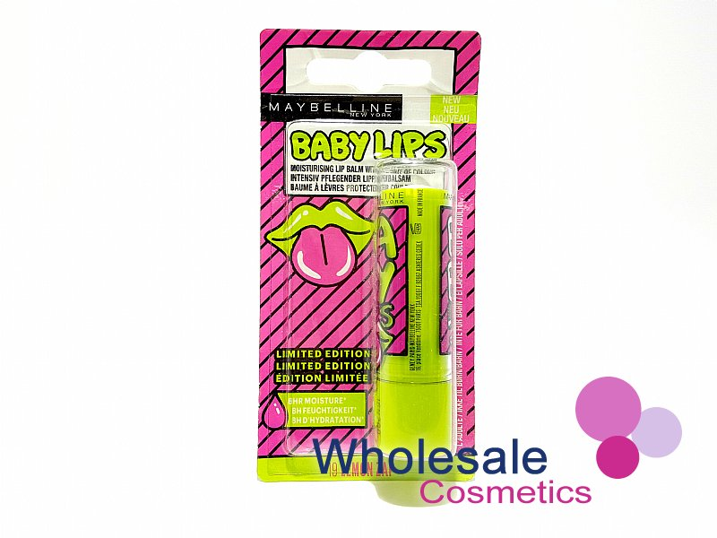 24 x Maybelline Baby Lips Lip Balm Limited Edition - 19 Lemon Zap