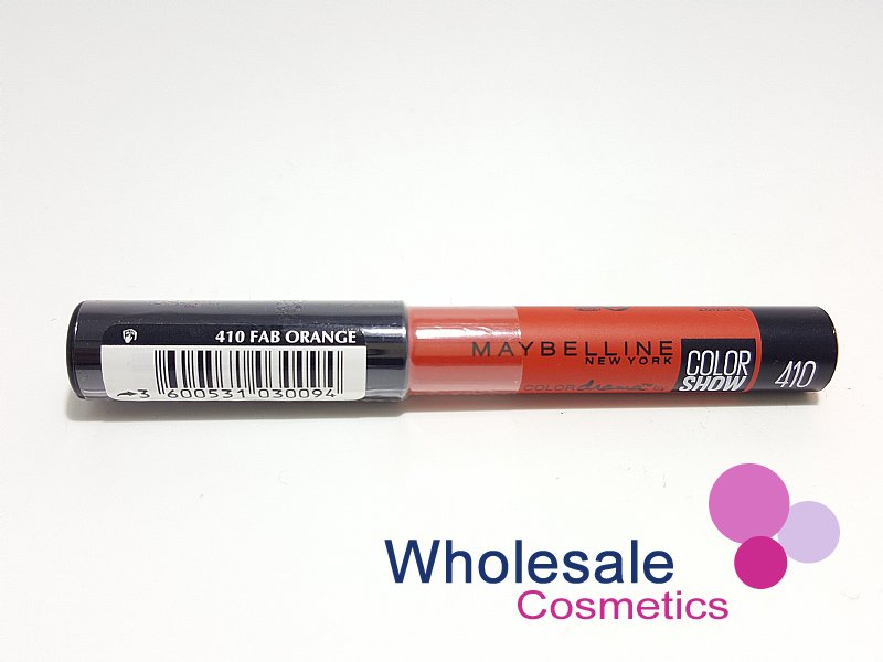 12 x Maybelline Color Drama Intense Velvet Lip Pencil - 410 Fab Orange