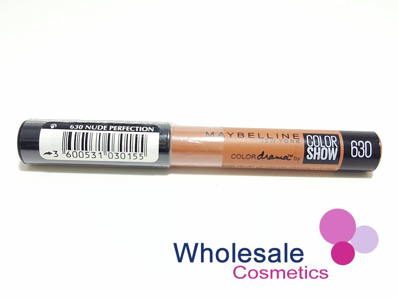12 x Maybelline Color Drama Intense Velvet Lip Pencil - 630 Nude Perfection