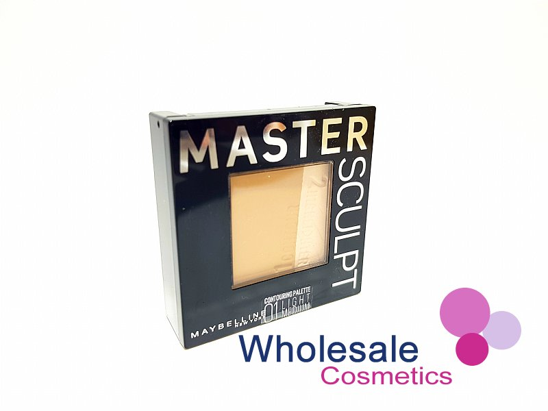 12 x Maybelline Master Sculpt Contouring Duo - 01 Light/Medium
