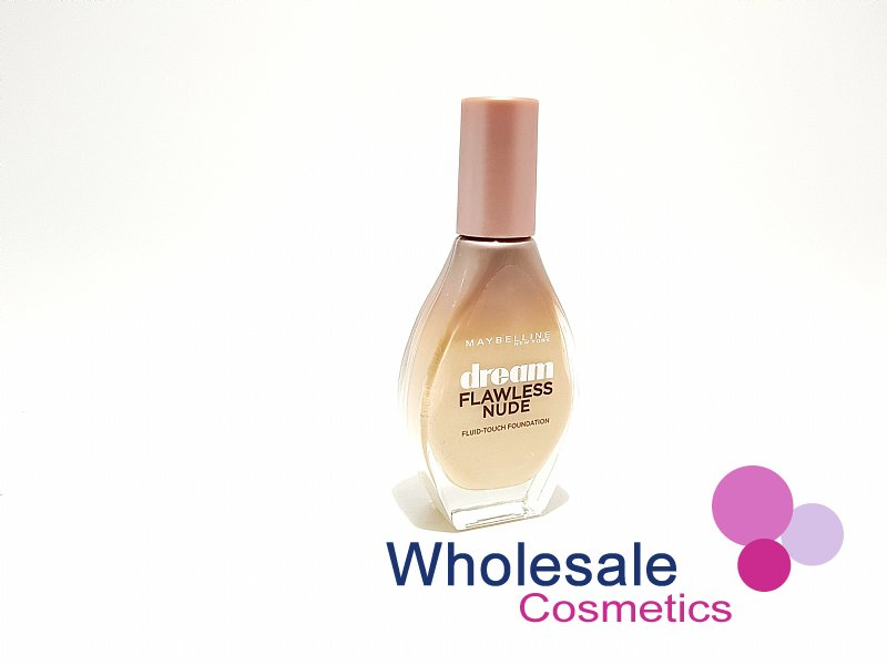 10 x Maybelline Dream Flawless Nude Foundation - 10 Ivory