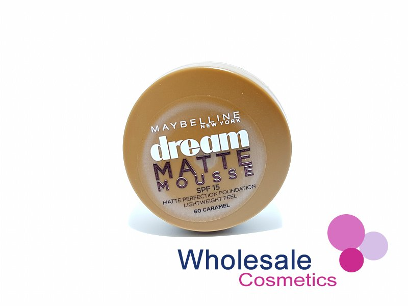 12 x Maybelline Dream Matte Mousse Foundation - 60 Caramel