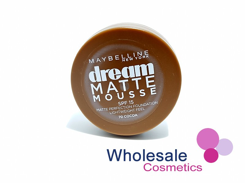12 x Maybelline Dream Matte Mousse Foundation - 70 Cocoa