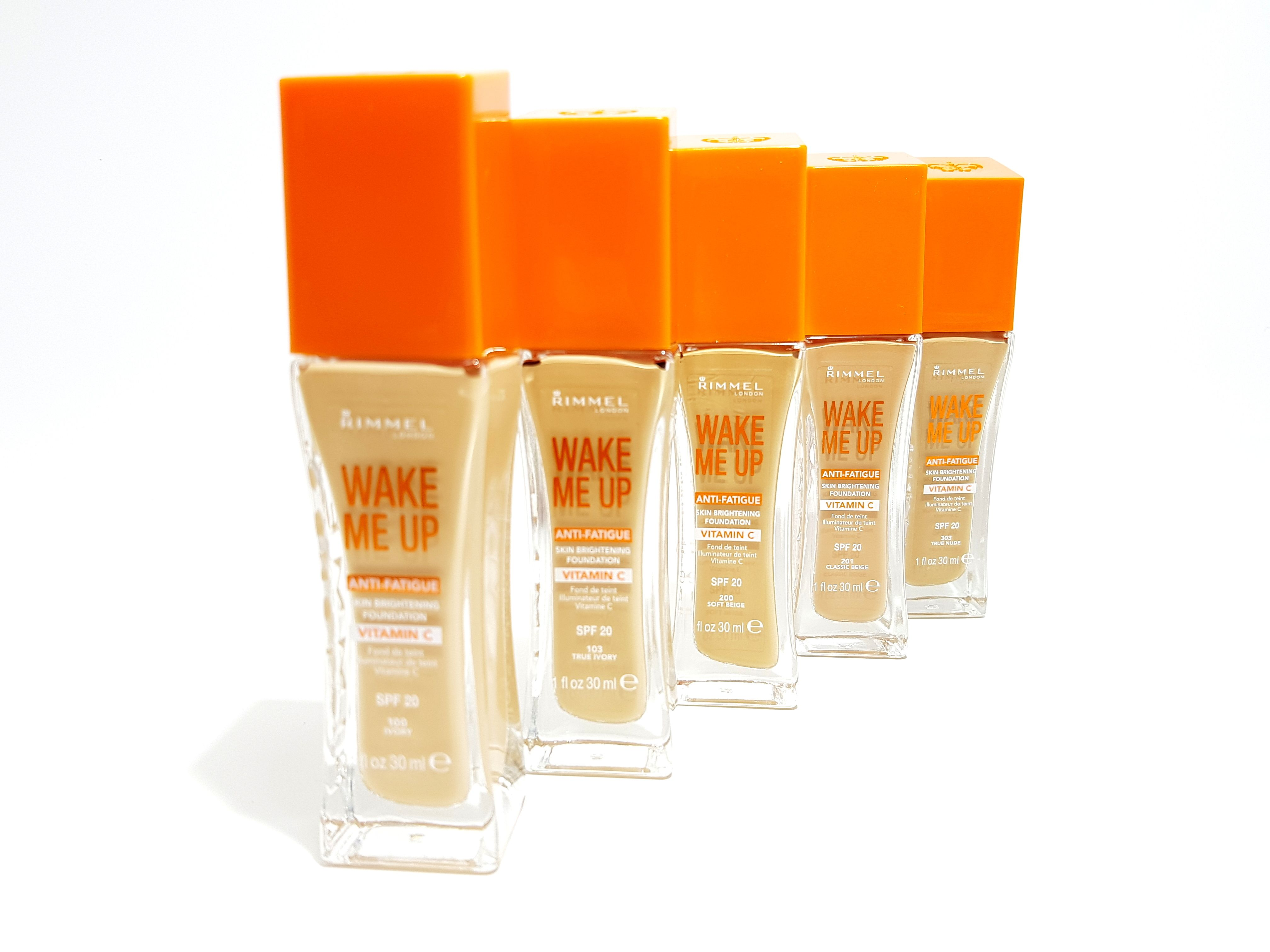 15 x Rimmel Wake Me Up Anti-Fatigue Foundation - ASSORTED
