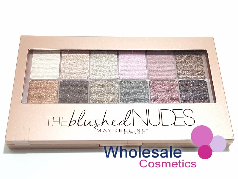 12 x Maybelline The Blushed Nudes Eyeshadow Palette