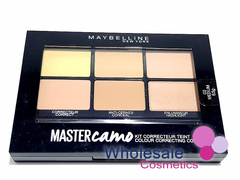 12 x Maybelline Master Camo Colour Correcting Concealer Kit - 02 Medium