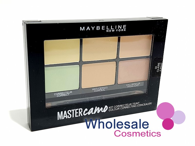 12 x Maybelline Master Camo Colour Correcting Concealer Kit - 01 Light
