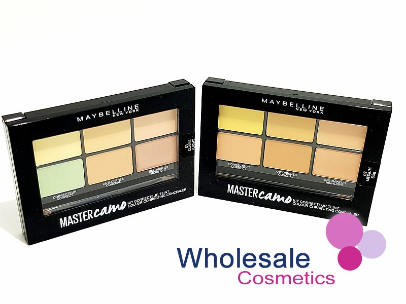 12 x Maybelline Master Camo Colour Correcting Concealer Kit - ASSORTED