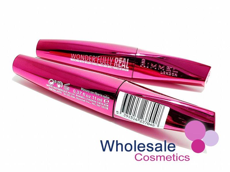 680a6c9d277 Wholesale Cosmetics - 12 x Rimmel Wonder'fully Real Black Mascara