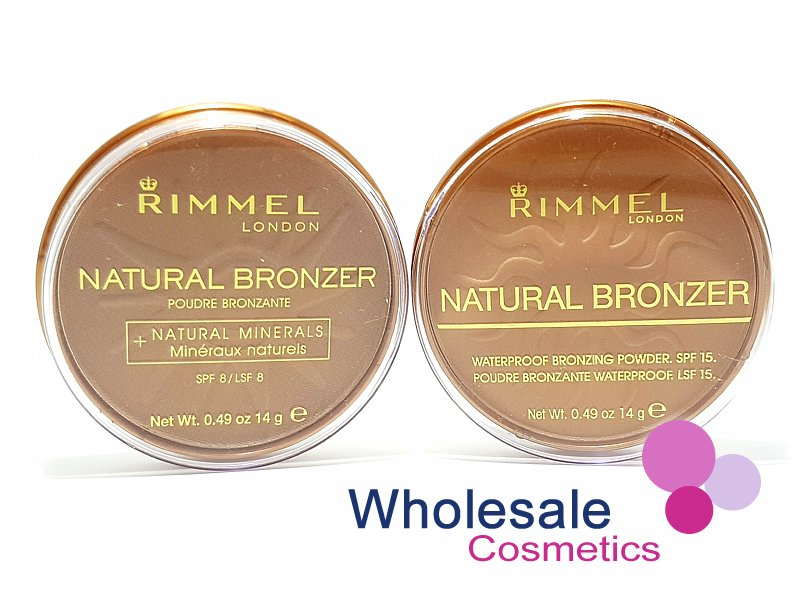 12 x Rimmel Natural Bronzer Pressed Powder - ASSORTED