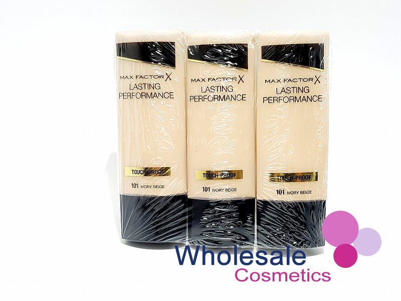 12 x Max Factor Lasting Performance Touch Proof Foundation - 101 Ivory Beige