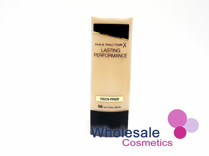 12 x Max Factor Lasting Performance Touch Proof Foundation - 106 Natural Beige