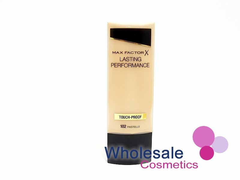 12 x Max Factor Lasting Performance Touch Proof Foundation - 102 Pastelle