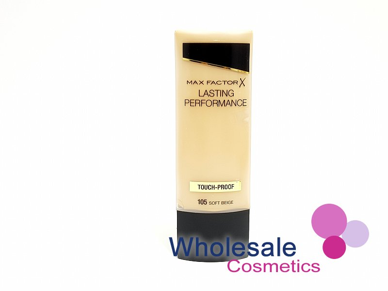 12 x Max Factor Lasting Performance Touch Proof Foundation - 105 Soft Beige