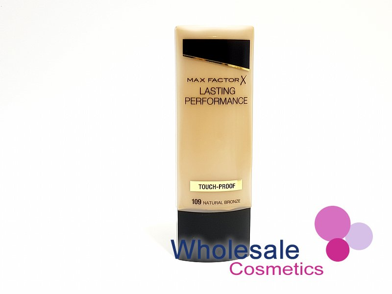 12 x Max Factor Lasting Performance Touch Proof Foundation - 109 Natural Bronze