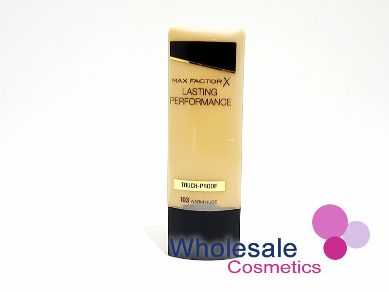 12 x Max Factor Lasting Performance Touch Proof Foundation - 103 Warm Nude