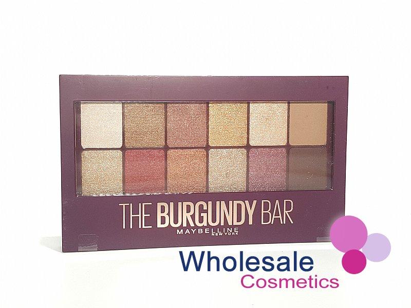 9e04896d588 Wholesale Cosmetics - 12 x Maybelline The Burgundy Bar Eyeshadow Palette
