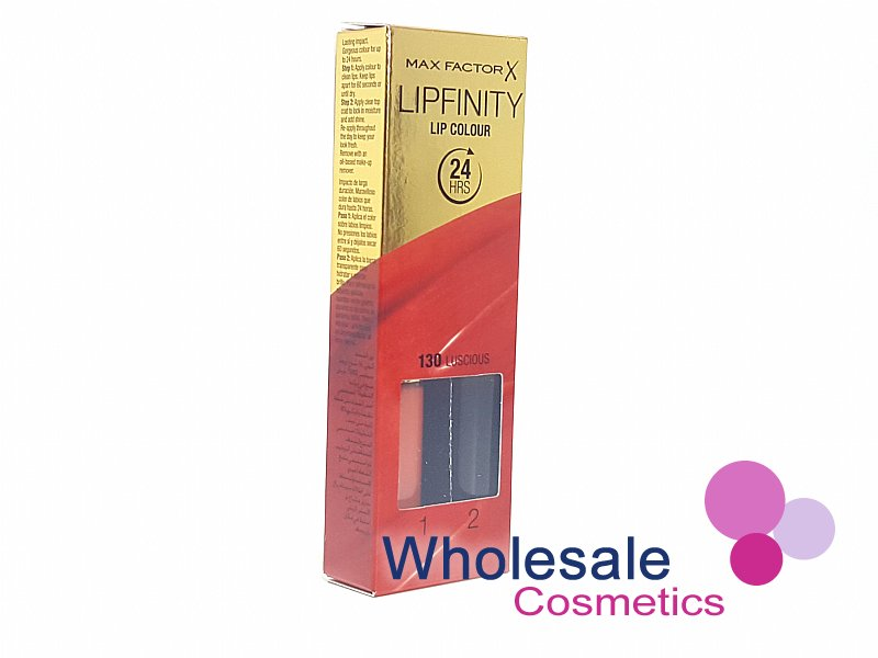 12 x Max Factor LipFinity Lip Colour - 130 Luscious