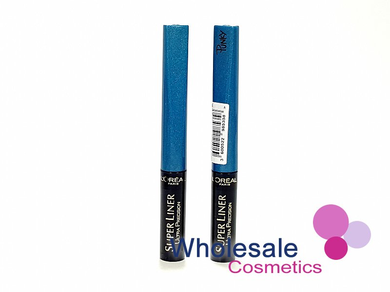 12 x L'Oreal SuperLiner Ultra Precision Punky Eyeliner - Turquoise