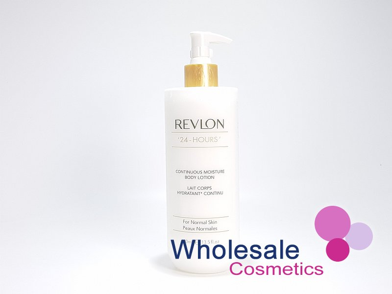 6 x Revlon 24 Hours Continuous Moisture Rich Body Lotion 400ml
