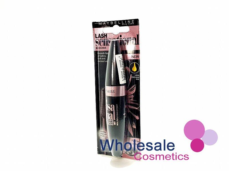 fdd29c6cdae 12 x Maybelline Lash Sensational Luscious Classic Black Mascara VIEW. 12 ...