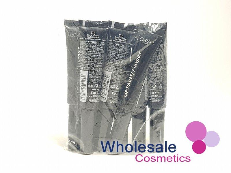 7fd46b971550b Wholesale Cosmetics - 8 x L'Oreal Infallible Lip Paint Lacquer - 113 ...