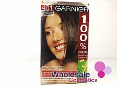 12 x Garnier 100% Color - 401 Intense Brown