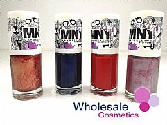 36 x Maybelline MNY Nail Polish Assorted