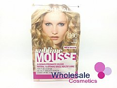 6 x L'Oreal Sublime Mousse Hair Colour - 900 Pure Light Blonde