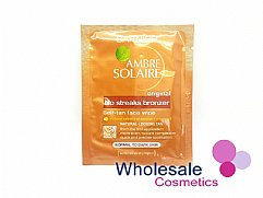 30 x Garnier Ambre Solaire No Streaks Bronzer Self Tan Face Wipes