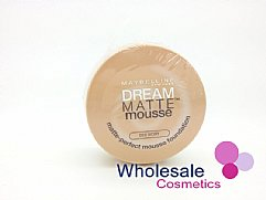 12 x Maybelline Dream Matte Mousse Foundation - 10 Ivory
