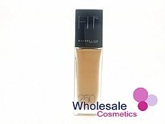 12 x Maybelline Fit Me Foundation - 250 Sun Beige