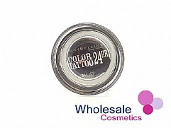 12 x Maybelline 24HR Color Tattoo Eyeshadow - 60 Timeless Black