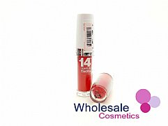 24 x Maybelline Superstay 14HR Lipstick - 575 Red Rays