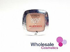 12 x L'Oreal Perfect Match Highlighter Powder - 202N Rosy Glow