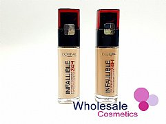 12 x L'Oreal Infallible 24HR Foundation