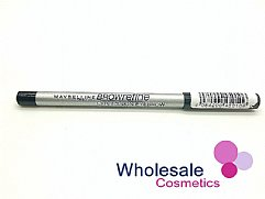 24 x Maybelline Browrefine ex<x>pression Eyebrow Pencil - Black